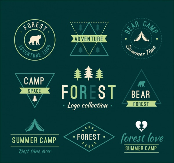 Collection of Forest Logos