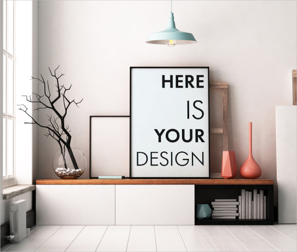Free Office Interior Mockup