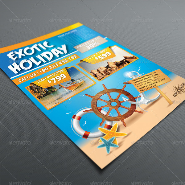 Exotic Holiday Flyer Template