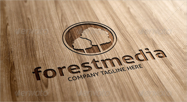 Forest Media Logo Template