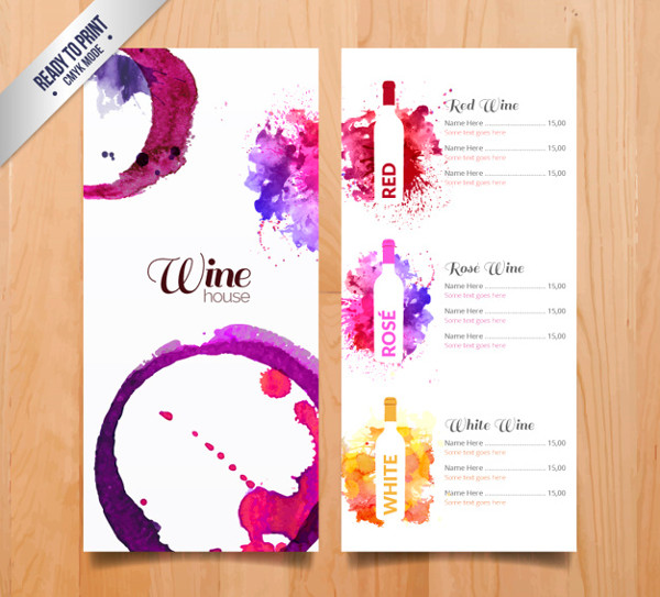 Bar Menu Template   Free Psd Ai Eps Vector Format Download
