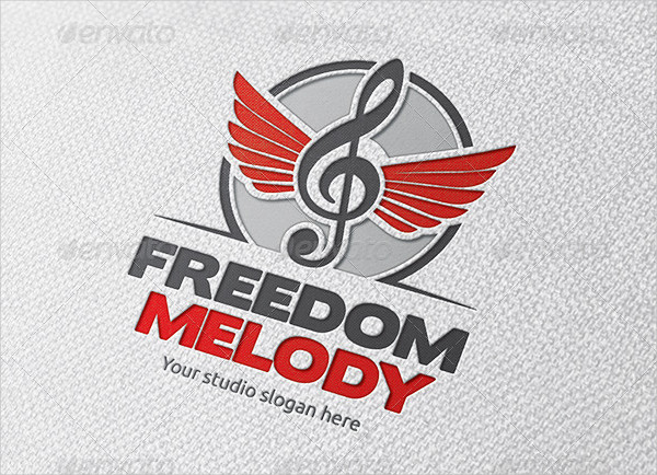 Freedom Music Logo Template