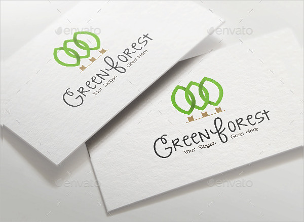 Green Forest Agency Logo