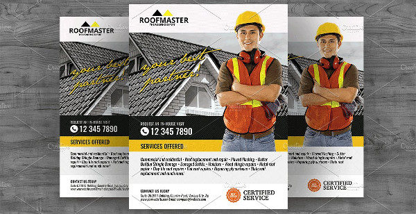 House Repair Services Flyer Template