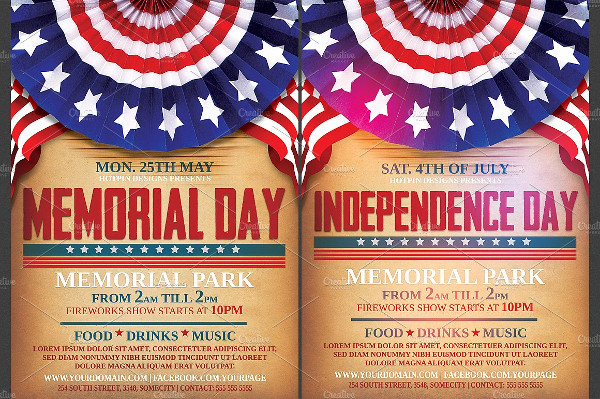 Independence Day Memorial Flyer