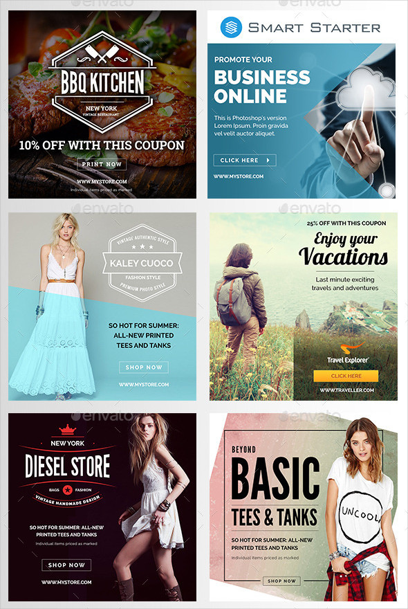 Instagram Marketing Banners
