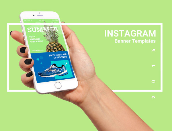 Free Instagram Banners Bundle