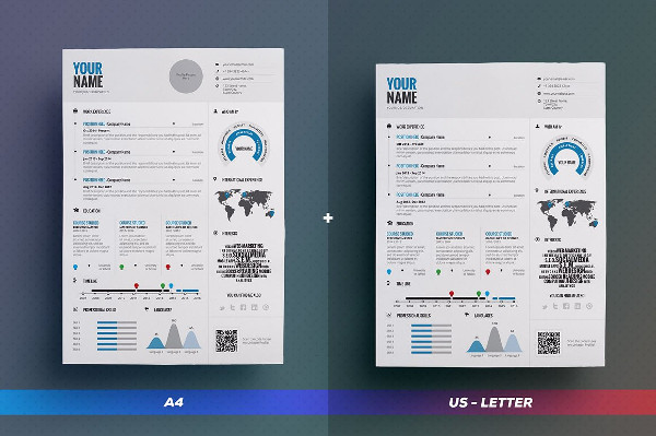 Free microsoft word infographic template