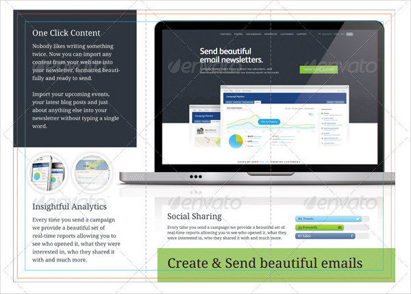 Marketing Email Brochure Template