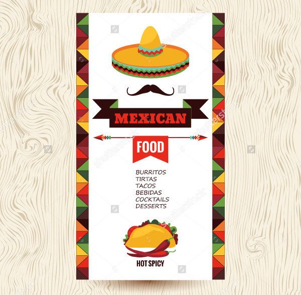 Vector Design Mexican Restaurant Banner