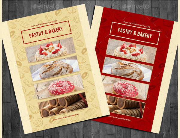 Bakery Menu Template   Free  Premium Download