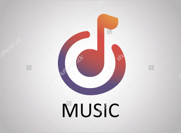 Music Connecting World Logo Template
