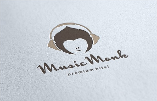 Music Monk Logo Template