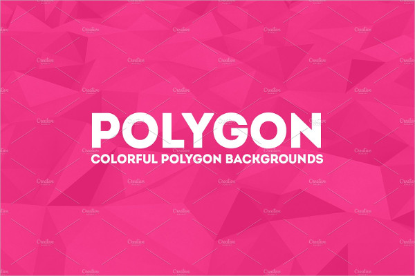 Polygon Summer Background