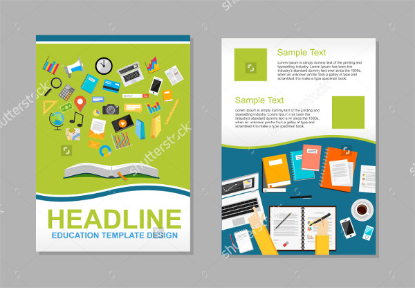 University Infographic Brochure Template