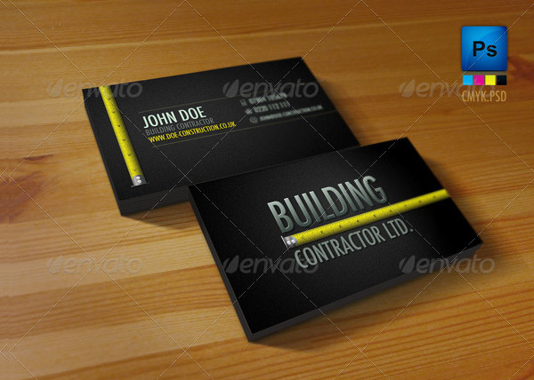 Construction business card templates download free mandegarfo construction business card templates download free accmission Gallery