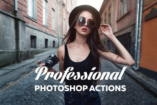 Professional Vintage Photoshop Actions
