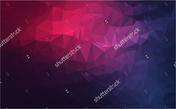 Polygon Vector Design Background