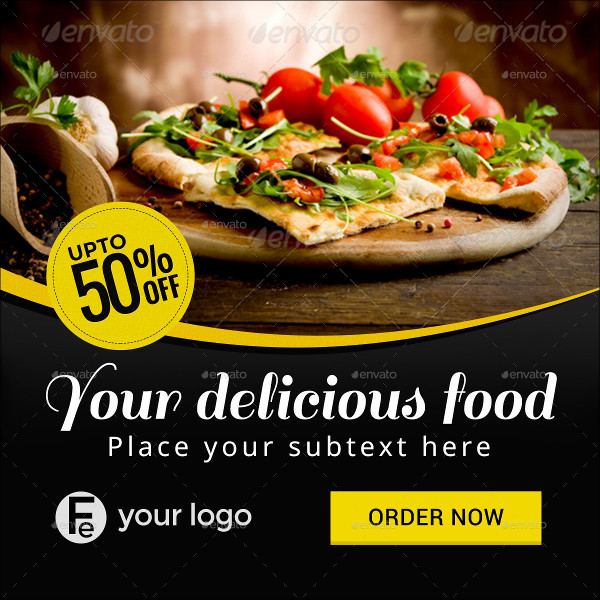 Awesome Quality Restaurant Business Banners