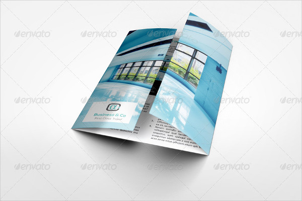 Perfect Stylish Gatefold Brochure Mockup Amazing Design