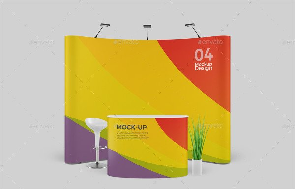 Trade Show Booth Mockup