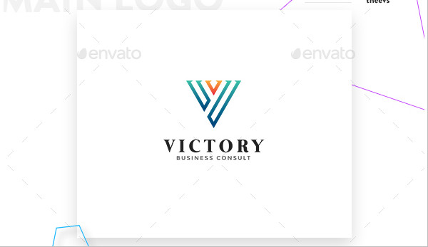 Victory Business Consult Logo Template