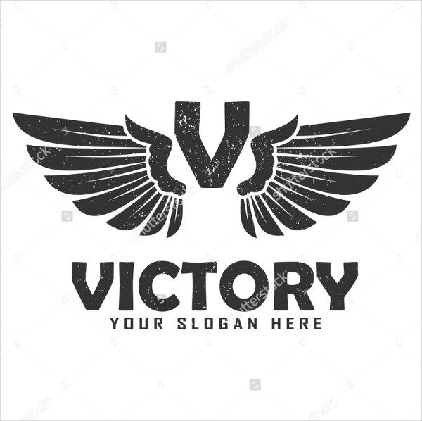 Victory Vector Design Logo Template