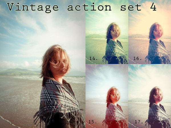 Wonderful Vintage Photoshop Action Free Download