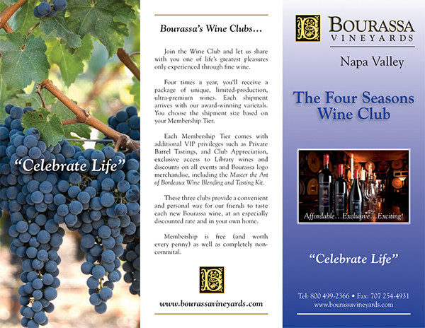 25  wine brochure templates
