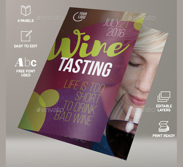 25 wine brochure templates free psd ai eps format for Wine brochure template free