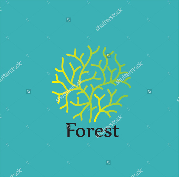 Forest Design Logo Template