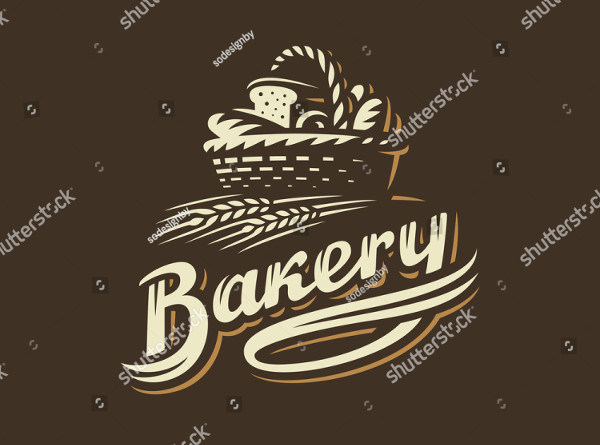 Bakery Basket Logo Vector Illustration