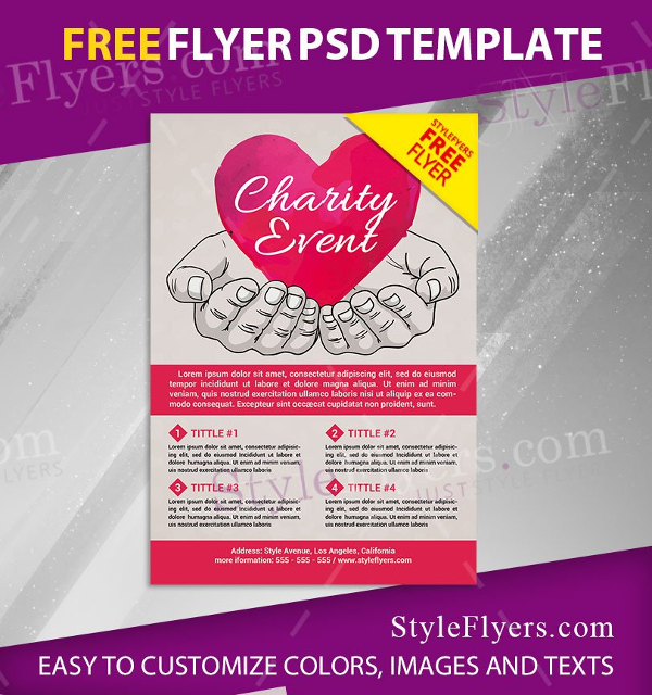 27 charity flyer templates free premium download. Black Bedroom Furniture Sets. Home Design Ideas