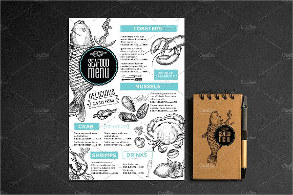 Best Seafood Menu Templates Bundle