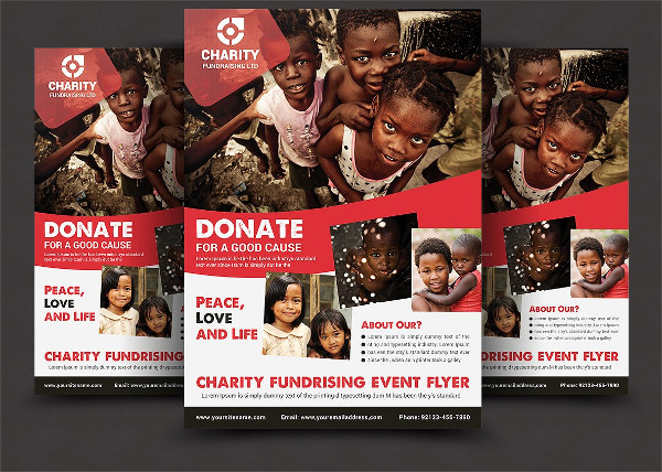 Charity Flyer Template Free Roho4senses