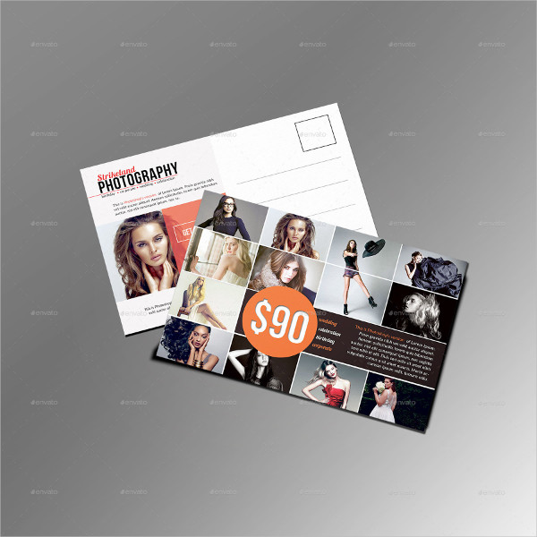 Corporate Photography Postcard Templates