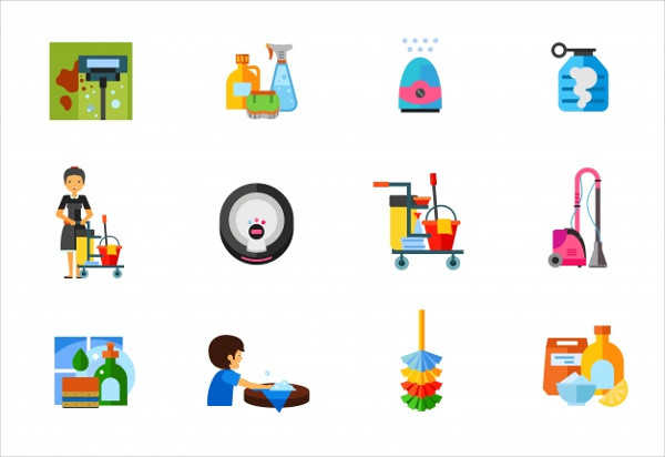 Free Download Cleaning Icon Collection