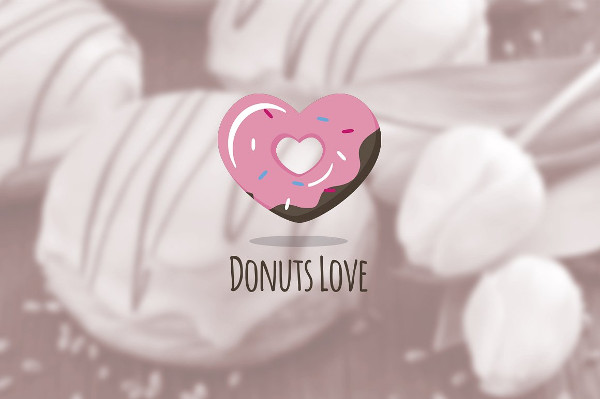 Donuts Shop Logo