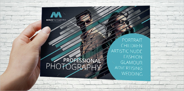 Professional Photographer Postcard Template