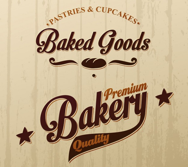 Free Vector Bakery Shop Logo