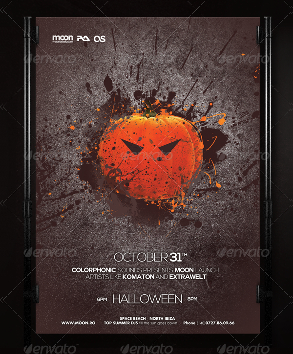 25+ Halloween Poster Templates - Free & Premium Download