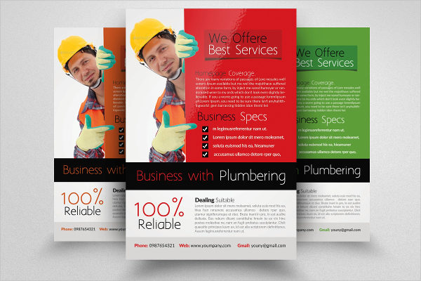 Handyman Services Flyer Template