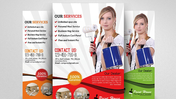 House Repair Flyer Templates