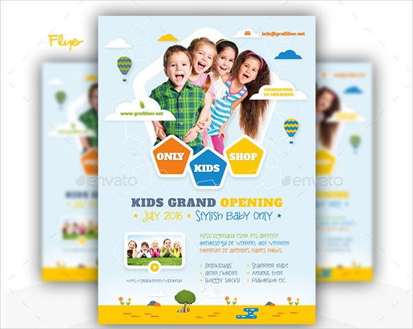 Kids Store Bundle Templates