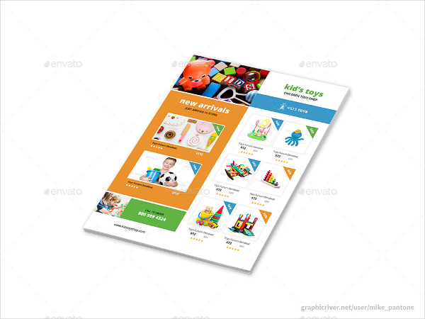Kids Toys Store Flyers