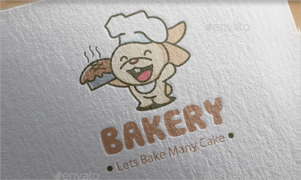 Latest Design Bakery Logo Template