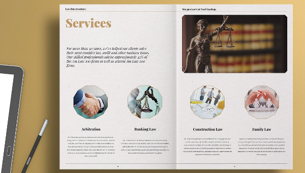 Law Firm Brochure Templates  Free  Premium Download