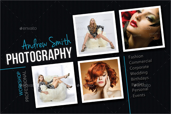 Best Photography Studio Postcard Template