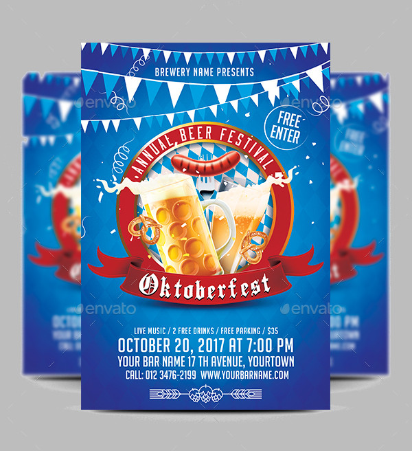 Annual Beer Festival Flyer Template