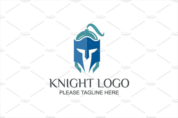 Perfect Knight Warrior Logo Template